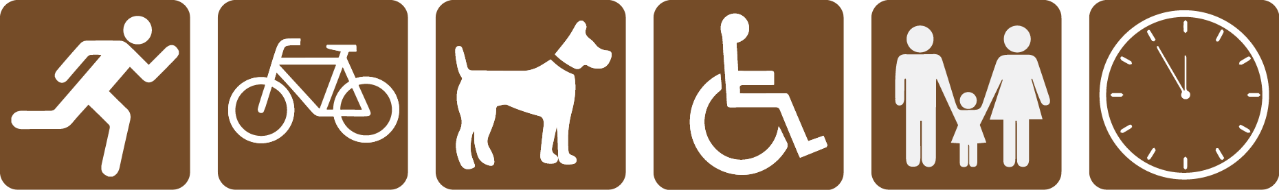 4.1-4.2 South Frontage Road Trail icons