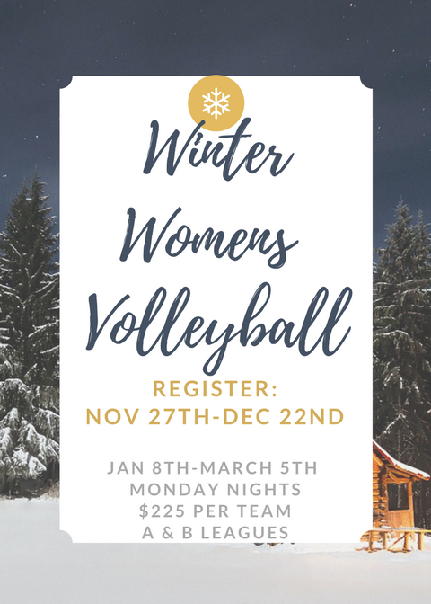 WinterWomens volleyball